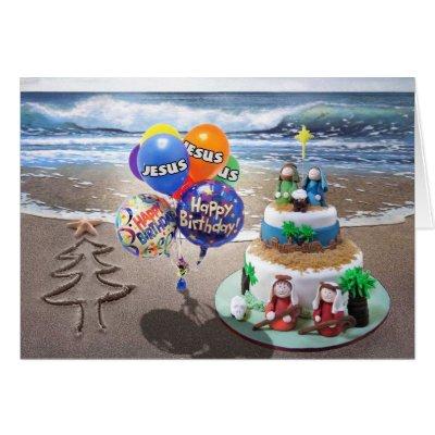Happy birthday jesus christmas nativity card zazzle bookmarktalkfo Gallery