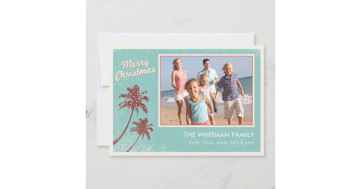 Beach Christmas Cards >> Beach Christmas Cards Zazzle Com