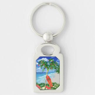 Beach Christmas Keychains