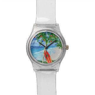 Beach Christmas Watch