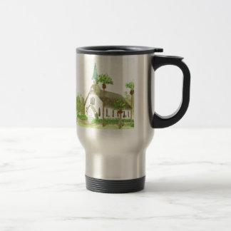 Beach Church Travel Mug