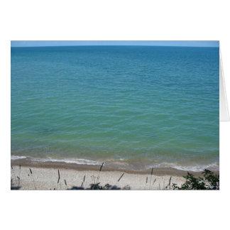 Beach Clear to Sky Card