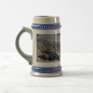Beach close up coffee mugs