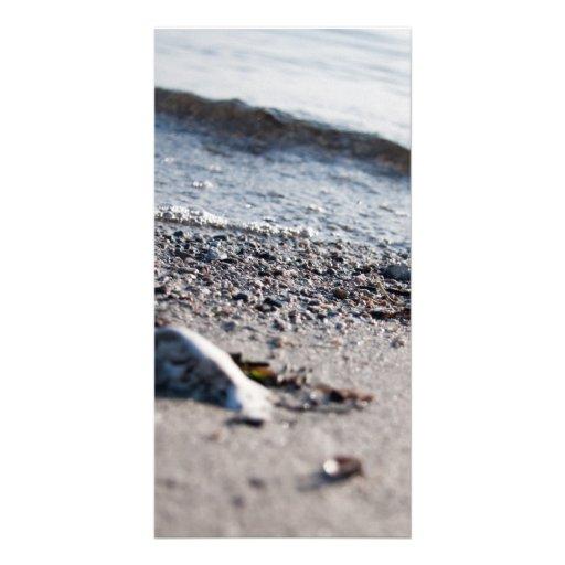 Beach close up photo cards
