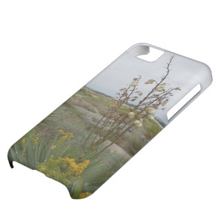 Beach Clouds and Wildflowers Cover For iPhone 5C