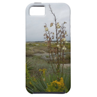 Beach Clouds and Wildflowers iPhone SE/5/5s Case