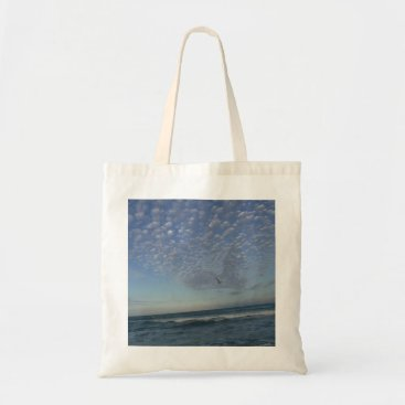 Wedding Themed Beach Clouds Tote Bag
