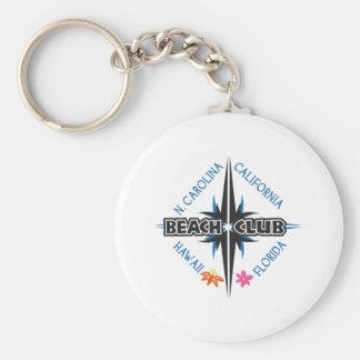 BEACH CLUB AMERICA KEY CHAIN