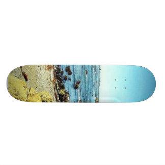 Beach Coast In Monterey Ocean Water Sea Custom Skate Board