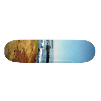 Beach Coast Ocean Water Sea 5 Skateboards