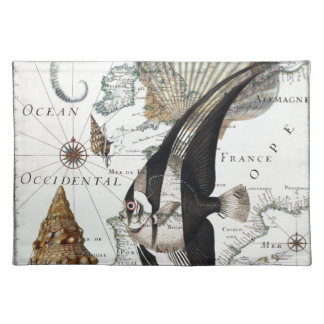 Beach Collage Placemat