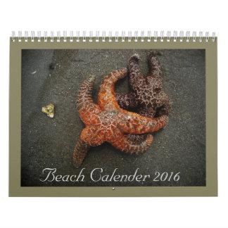 Beach Collection 2016 Calendar