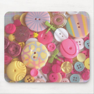 Beach Color Buttons Mouse Pad