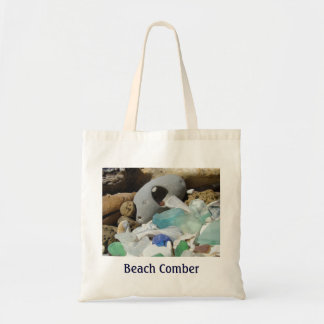Beach Comber Tote Bags gifts Seaglass Coast Totes