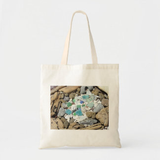 Beach Combers tote bags Rock Hound Sea Glass