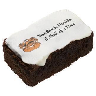 Beach Cookies - Vero Beach Florida Rectangular Brownie