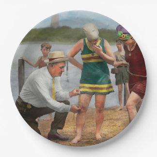 Beach - Cop a feel 1922 Paper Plate