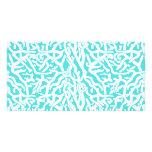 Beach Coral Reef Pattern Nautical White Blue Photo Card