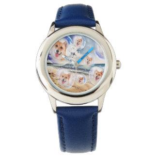 Beach Corgis Wristwatch