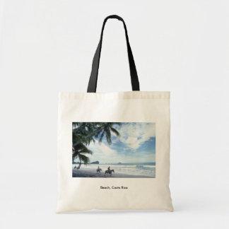 Beach, Costa Rica Budget Tote Bag