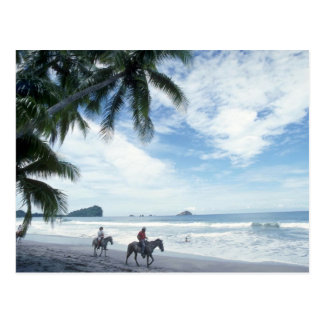 Beach, Costa Rica Postcard