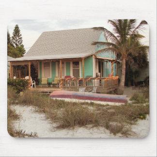 Beach Cottage Scruggs Harbor Florida Mouse Pad