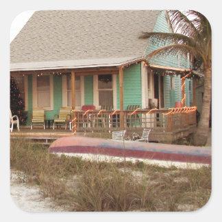 Beach Cottage Scruggs Harbor Florida Sticker