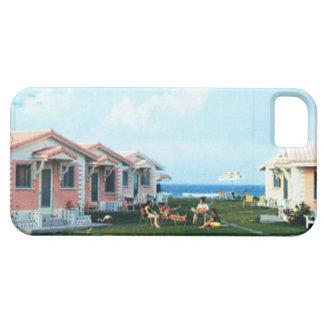 Beach Cottages Vintage Vacation Photo Phone Case