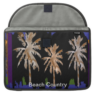 Beach Country Sleeves For MacBook Pro