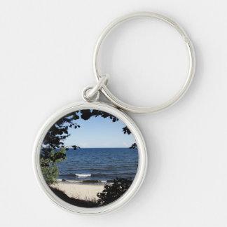 Beach cove keychain