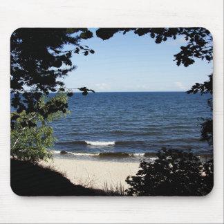 Beach cove mouse pad