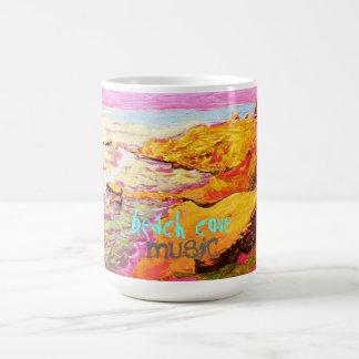 beach cove music coffee mug
