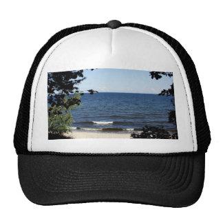 Beach cove trucker hat