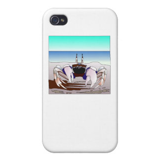 Beach Crab iPhone 4/4S Cover