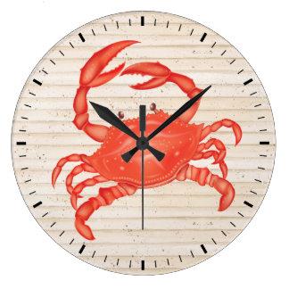 Beach Crab Wall Clock - SRF
