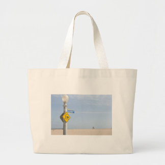 Beach Crossing Jumbo Tote Bag