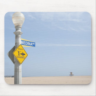Beach Crossing Mouse Pad