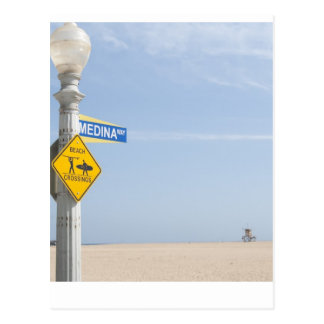 Beach Crossing Postcard