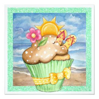 Beach Cupcake ! - SRF Card