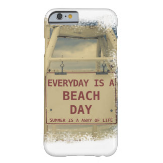 Beach Day Barely There iPhone 6 Case
