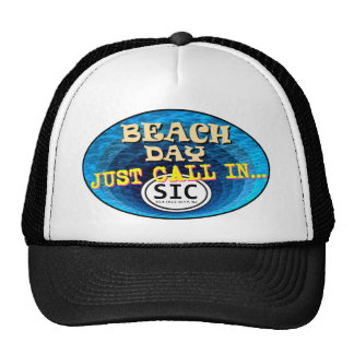 BEACH DAY CALL IN SIC2 MESH HATS