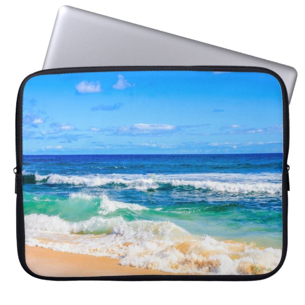 beach day computer sleeve