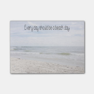 Beach Day Post-it® Notes