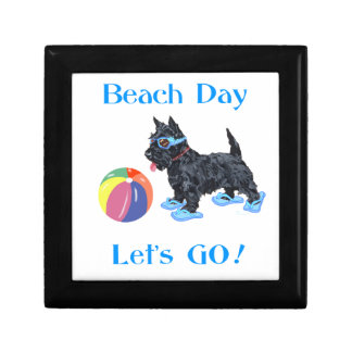 Beach Day Scottie Dog Gift Boxes