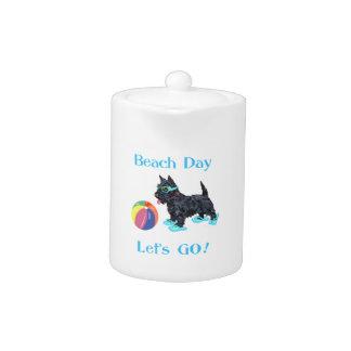 Beach Day Scottie Dog
