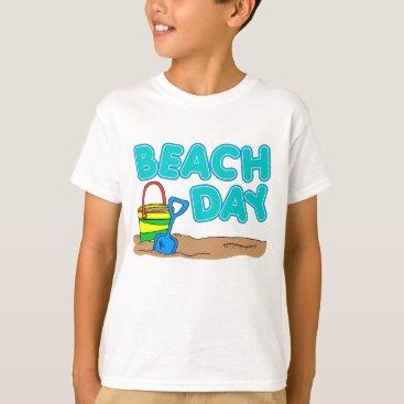 Beach Themed Beach Day T-Shirt