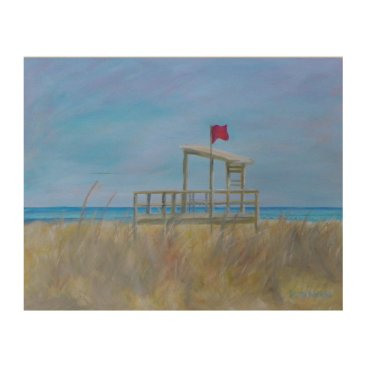 Beach Themed BEACH DAY Wood Wall Art