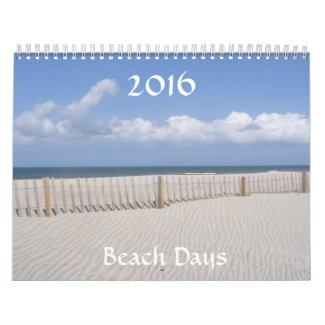 Beach Days 2016 Calendar