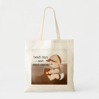 Beach Days and Sand Castles Tote Bag