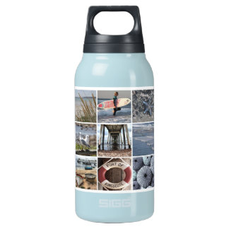 Beach Days Collage Insulated Water Bottle